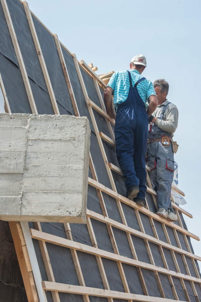 Więźba dachowa z Rzeszowa